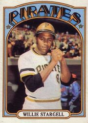 1972 Topps Baseball Cards      447     Willie Stargell